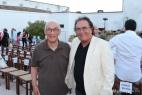 Al Bano Carrisi con un grande amico della masseria, Francesco Lupo