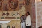 Al Bano Carrisi nella Chiesa della Masseria del Duca