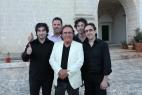 Al Bano Carrisi con il gruppo musicale di Francesco Greco Ensemble