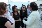 Al Bano Carrisi con le volontarie dell'Opera di Don Bonifcio, Azione Verde