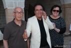 Al Bano con Francesco Lupo e sua moglie Ninetta