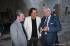 Al Bano con Roberto Burano e Angelo Rotaia, Presidente Lions Grottaglie