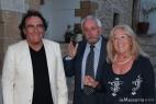 Al Bano con Roberto Burano e la moglie Carmela