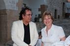 Al Bano e Anna De Marco, guida instancabile del Consorzio delle Cento Masserie