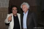 Al Bano con il dott. Teodoro Ripa