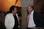 Al Bano con il suo grande amico Pino Aprile, due pugliesi DOC