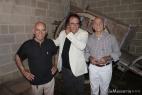 Al Bano tra i fratelli Angelo e Aldo Cassese