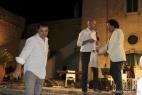 Gianpaolo Cassese dona il formaggio Don Carlo ad Al Bano Carrisi
