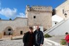 Il noto attore e regista Enzo Decaro con Gianpaolo Cassese alla Masseria del Duca