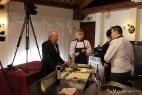 Ultimi preparativi prima dello show cooking inMasseria