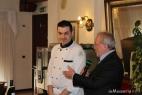 Alberto Marcomini introduce lo Chef Gennaro Esposito, del ristorante Mice en Place