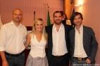 Da sinistra Gianpaolo Cassese, Sabrina Merolla, Daniele Del Genio e Antonio Prota