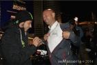 """Valentino Rossi """"autografa"""" Gianpaolo Cassese"""
