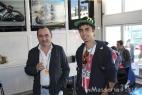 Il nostro ospite Beppe Rubino di Apulia Distribuzione con il figlio Vincenzo