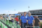 Gianpaolo Cassese con Massimo Telese al Gran Premio di San Marino