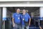 Gianpaolo Cassese con Adriano, nostro affezionato cliente svizzero