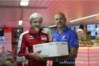 Gianpaolo Cassese con Gigi Dall'Igna, Direttore Generale di Ducati Corse