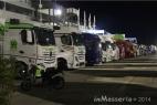 Nei paddock del Gran Premio di San Marino