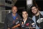 Gianpaolo Cassese con Dani Pedrosa e Giovanni Chirulli
