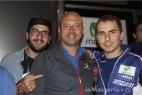 Da destra Jorge Lorenzo, Gianpaolo Cassese e Giovanni Chirulli