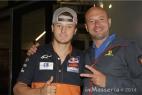 Jack Miller con Gianpaolo Cassese