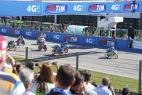 Partenza Moto3 del Gran Premio di San Marino
