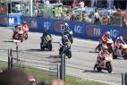 Partenza Moto2 del Gran Premio di San Marino