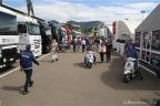 Nei paddock del Gran Premio d'Italia del Mugello