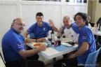Lo staff ai box del MotoGP del team Iodaracing