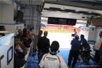 Ai box del MotoGP del Gran Premio d'Italia al Mugello 2014