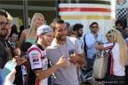 Stefan Bradl con Fabio Quagliarella