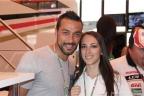 Fabio Quagliarella con Viviana Vergine