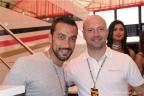 Fabio Quagliarella con Gianpaolo Cassese, per il brand inMasseria