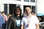 Lo chef Alessandro Borghese con Gianpaolo Cassese