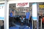 Gianpaolo Cassese al box Moto2 di Ioda