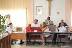 Il Presidente del Consiglio Comunale legge le motivazioni del premio