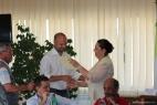 Gianpaolo Cassese riceve il riconoscimento per il formaggio Don Carlo