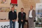 Saluto istituzionale di Francesco Laddomada, Consigliere regionale e Giuseppe Laddomada, sindaco di Crispiano