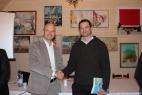 Gianpaolo Cassese con Lorenzo Maggioni del CIB, Consorzio Italiano Biogas