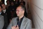 In primo piano, l'ing. Giuseppe Ricchiuti