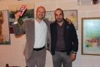 Gianpaolo Cassese fa dono di una copia di Mai più Terroni di Pino aprile all'ing. Gianni Grassi, per aver contribuito significativamente nella realizzazione dell'impianto di biogas
