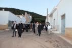 Dario Stèfano, Assessore regionale alle Politiche Agricole, si complimenta con Gianpaolo Cassese per aver realizzato il primo impianto di biogas agricolo in Puglia