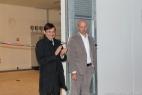 Dario Stèfano, Assessore regionale alle Politiche Agricole, si complimenta pubblicamente con Gianpaolo Cassese per aver realizzato il primo impianto di biogas agricolo in Puglia