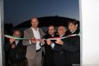 Da sinistra Lino e Gianpaolo Cassese, don Marco Gerardo, il cav. Aldo Cassese e Dario Stèfano, Assessore regionale alle Politiche Agricole