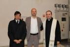 Da sinistra Gianpaolo Cassese, Dario Stèfano, Assessore regionale alle Politiche Agricole e don Marco Gerardo