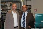 Gianpaolo Cassese con il dott. Alberto Cassano, dirigente di Leasint spa