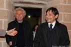 Il dott. Teodoto Ripa del Dipartimento di Prevenzione, Servizi Veterinari ASL Taranto con Dario Stèfano, Assessore alle Politche Agricole della Regione Puglia