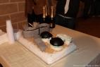 La prima torta al mondo che riproduce un impianto di biogas! Sala motori, condotte gas, digestori e vasche per il digestato in buonissimo cioccolato!