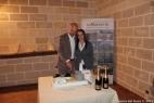 Gianpaolo Cassese con la moglie Viviana Vergine, autrice della prima torta al mondo che riproduce un impianto di biogas!