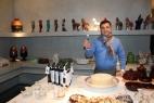Massimo Telese, infaticabile artefice delle più importanti degustazioni. Signori... ecco il Don Carlo!